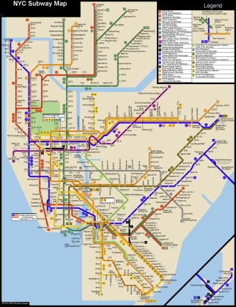 Madison Subway Map.12 Secrets Of The New York Subway